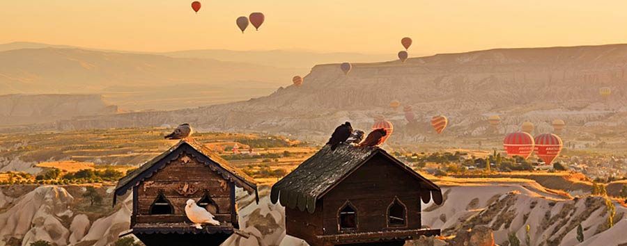 Cappadocia, fascino immutato - Turkey, Cappadocia Amazing view from the Museum Hotel