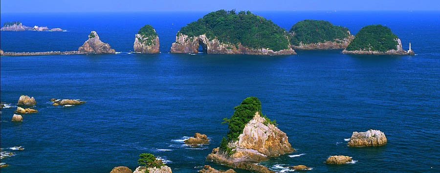 Beautiful Tohoku - Japan View of the Matsushima Islands