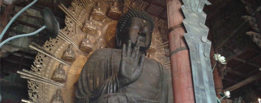 Kyoto, la Firenze d'Oriente - Japan Nara, Vairocana Buddha