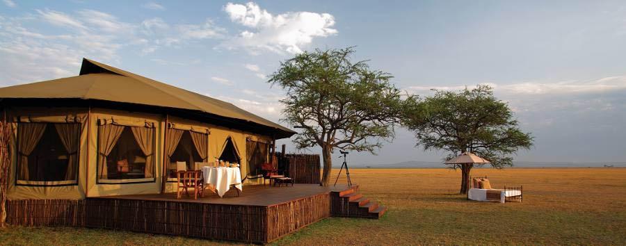 Singita Sabora Tented Camp - Tent exterior