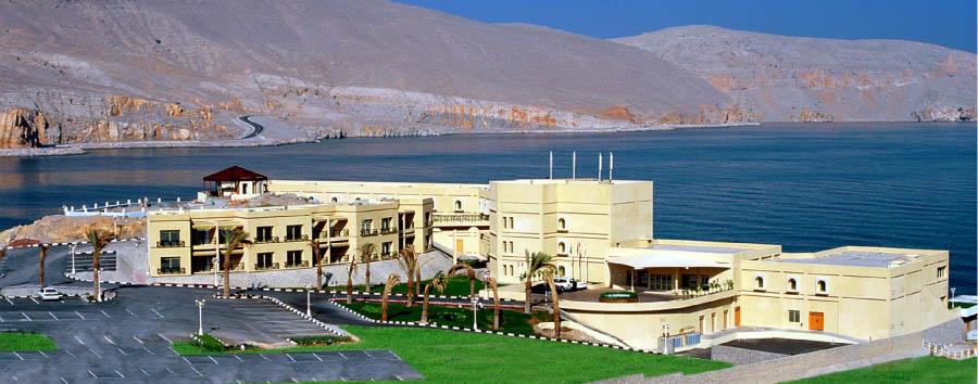 Atana Khasab Hotel  - Top view