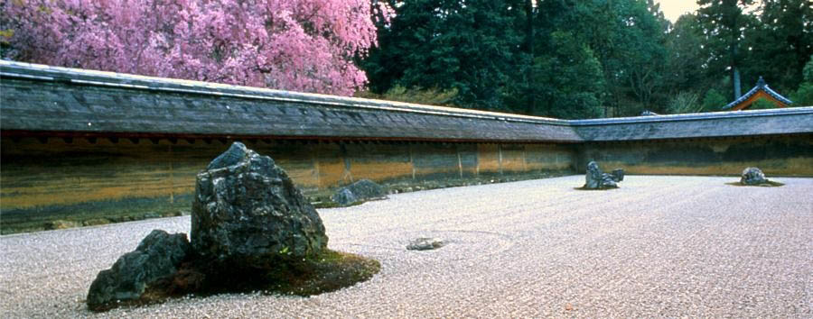 Japan - Kyoto, Ryoanji Temple's Rock Garden