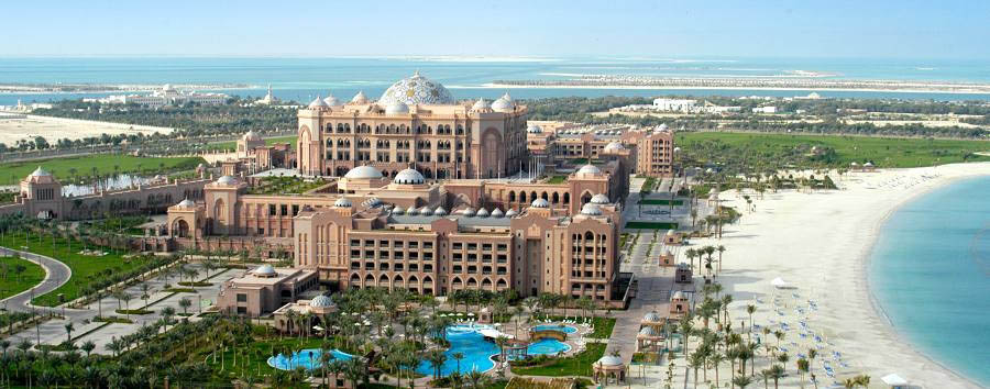 Emirates Palace - Hotel Aerial View