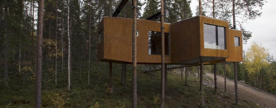 Treehotel+-+The+Dragonfly%2C+Exterior