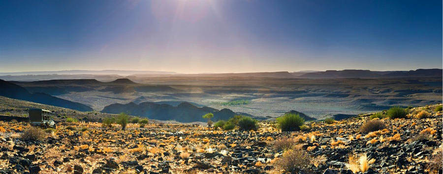 Namibia - Fish River Canyon Amazing Landscape