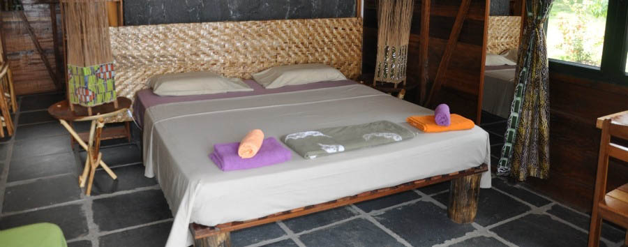 Mucumbli Eco Lodge - Double Bedroom