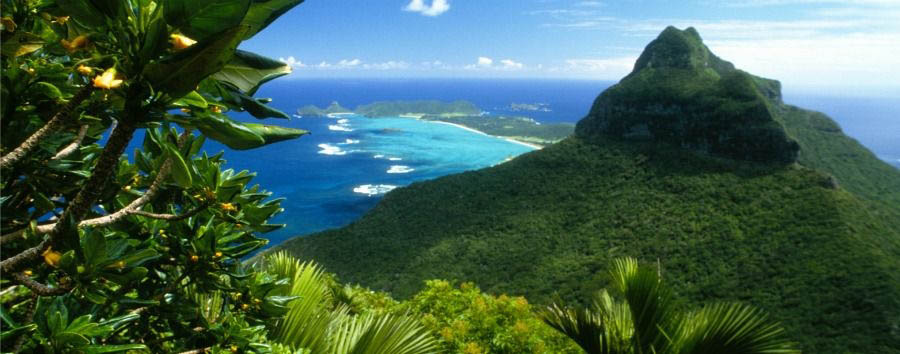 Unique Lord Howe Island Experience - Australia Lord Howe Island, Mountain Views © Luxury Lodges of Australia