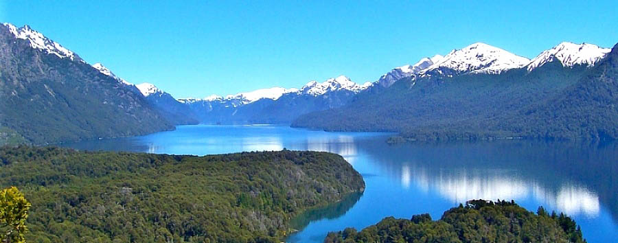 Highlights of Patagonia - Argentina View of Cerro Campanario and the Nahuel Huapi Lake