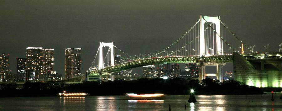 Sentieri Giapponesi - Japan Tokyo, Odaiba Quarter at Night
