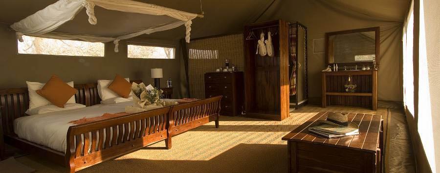 Linyanti Bush Camp - Tent interior