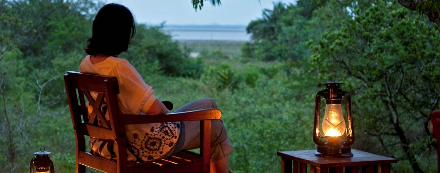 Makakatana Bay Lodge - Just relax and enjoy the view