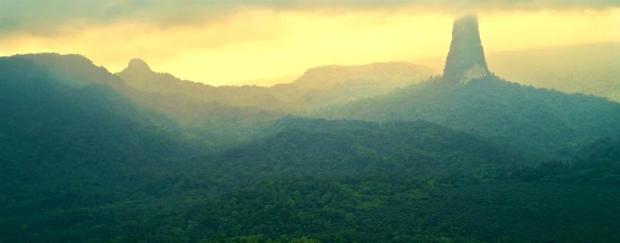 Roças de São Tomé - São Tomé Pico Cão Grande