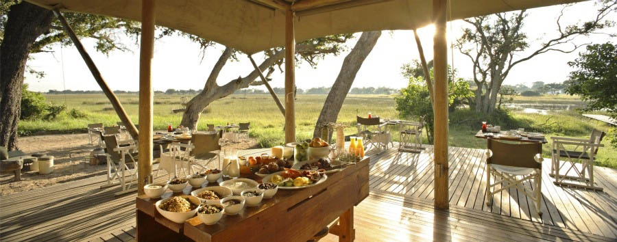 %26Beyond+Xaranna+Okavango+Delta+Camp+-+Outdoor+Dining+Area