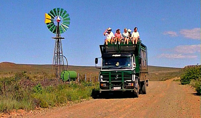 Drifters Truck in Karoo - South Africa
