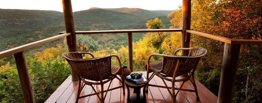 Isibindi Zulu Lodge - Room deck