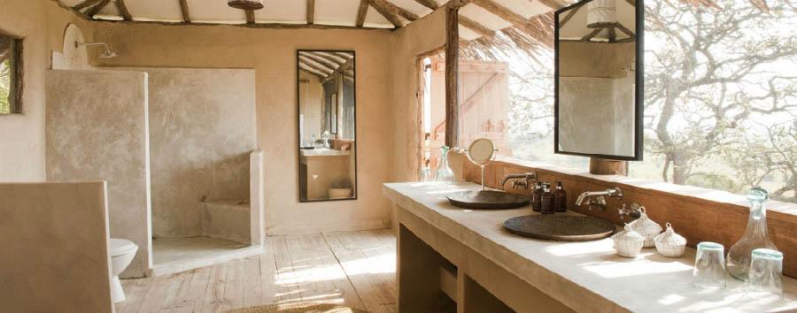 Lamai Serengeti - Lodge Bathroom