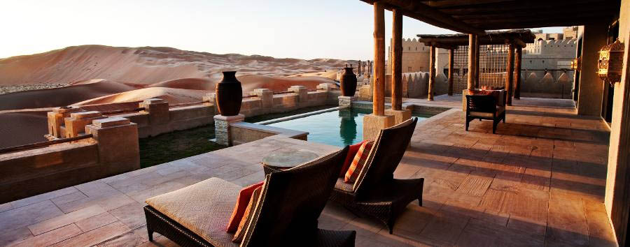 Qasr Al Sarab Desert Resort & Spa by Anantara - Villa terrace