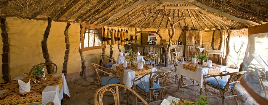Tindiga Tented Camp - Restaurant