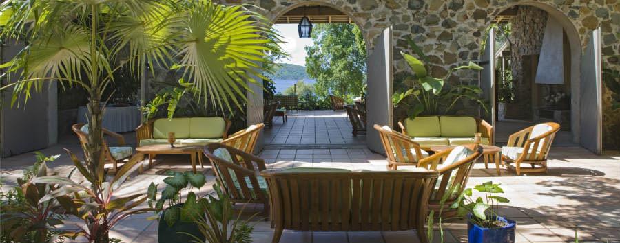 Caraibi: soggiorno a Caneel Bay - Isole Vergini Americane Caneel Bay Resort, Turtle Bay Veranda