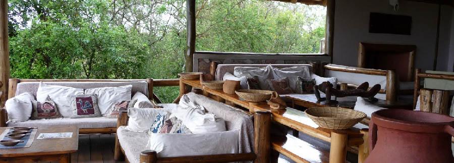 Mantana Tented Camp - Living room