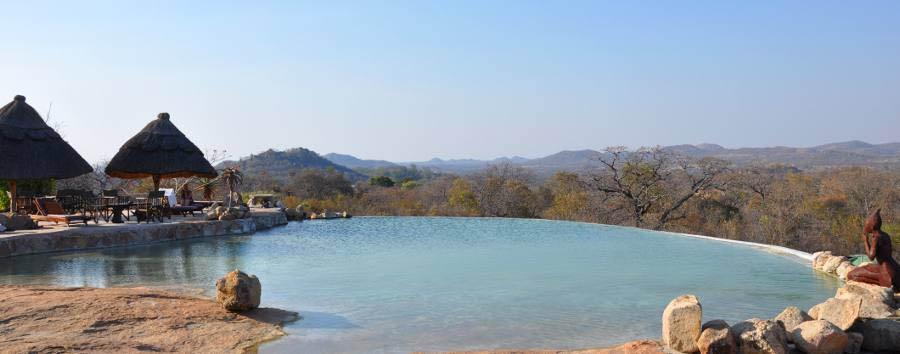 Camp Amalinda - Infinity pool