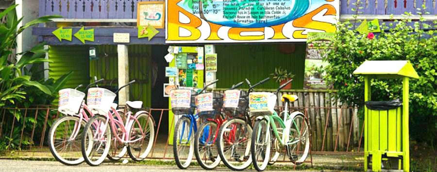 Hola Panama: meet the locals - Panama Bocas del Toro, Bike Rental