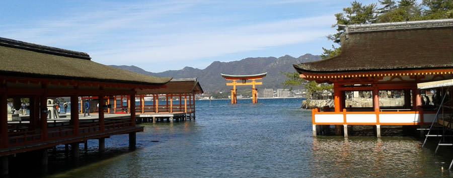 Gran Tour del Giappone - Japan Miyajima Temple