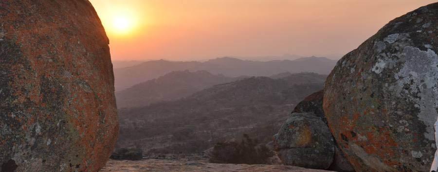 Zimbabwe, il fumo che tuona - Zimbabwe Sunset in the Matobo National Park