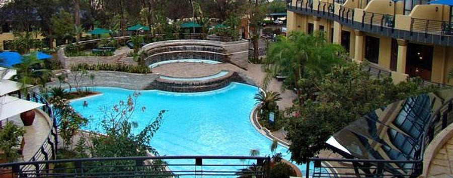 Kigali Serena Hotel - Pool view