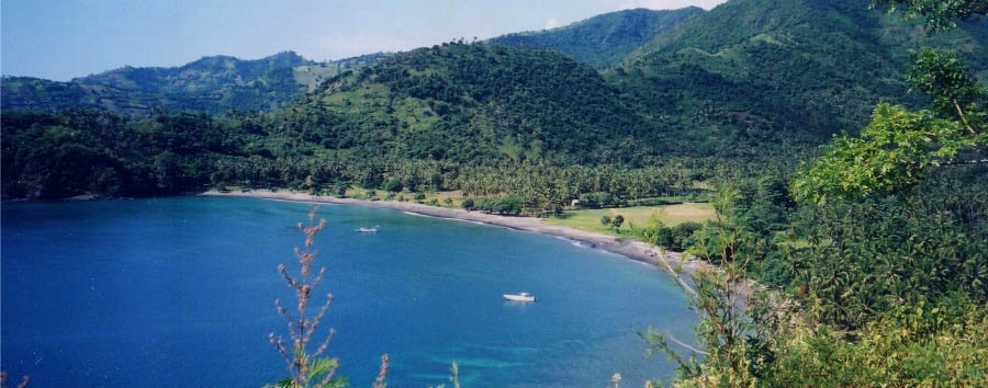 Isole da sogno - Indonesia Lombok, Aerial View