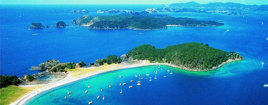 Fascinating New Zealand - New Zealand Russel, The Beautiful Bay of Islands