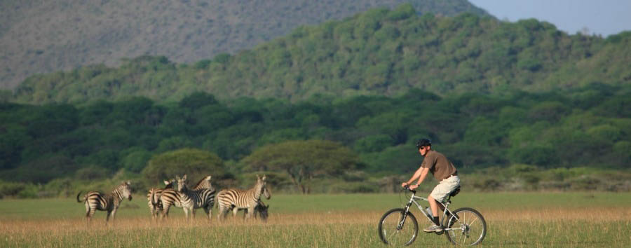 Unique Kenya Experience - Kenya ol Donyo Lodge, Mountain Bike Excursion