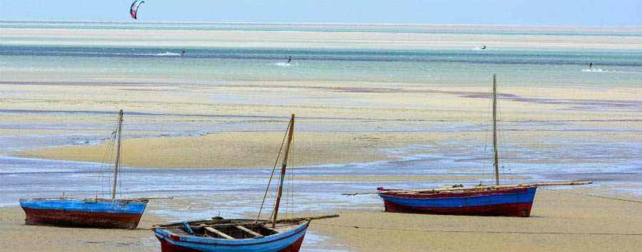Simply South Africa & Mozambique - South Africa Vilankulos, Boats on The Beach