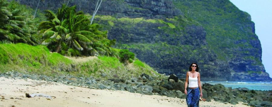 Unique Lord Howe Island Experience - Australia Lord Howe Island, Lovers Bay Walk © Luxury Lodges of Australia