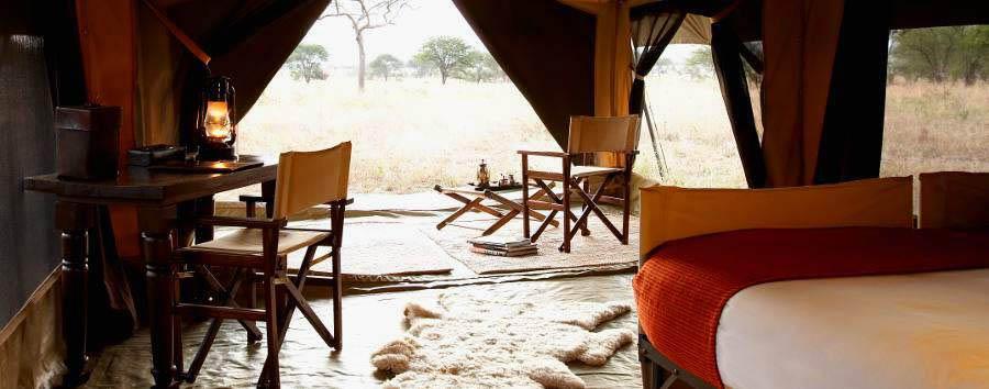 Olakira Camp - Tent interior