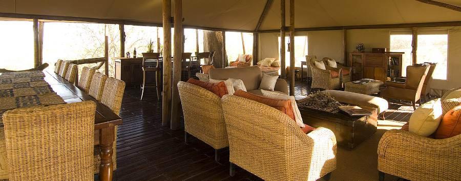 Linyanti Bush Camp - Lounge