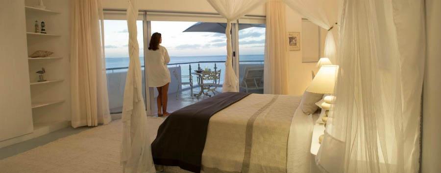 Villa Santorini: Jewel of Vilankulos - Mozambique Villa Santorini, Magaruque Suite Bedroom