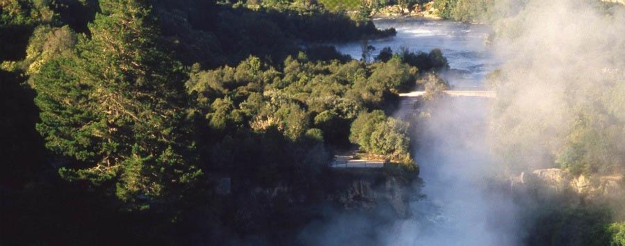New Zealand, Enchanting Nature - New Zealand Huka Falls