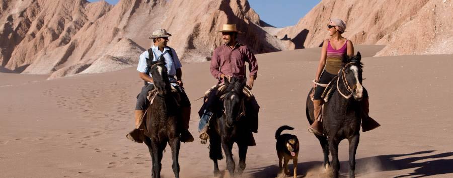 Tierra Atacama Hotel & Spa - Horse riding in the desert