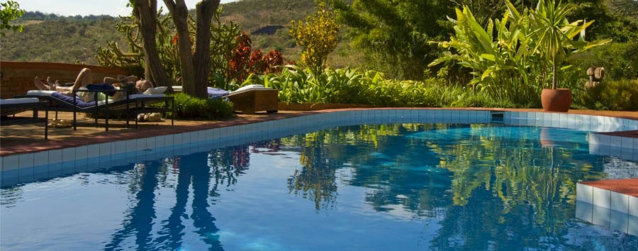The Plantation Lodge - Pool view