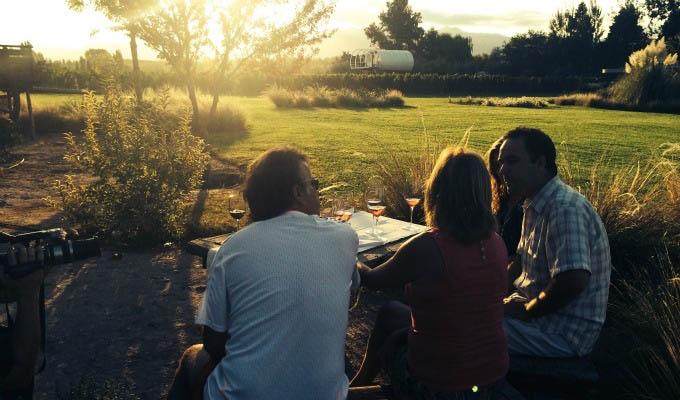 Entre Cielos, Outdoor Wine Tasting - Argentina