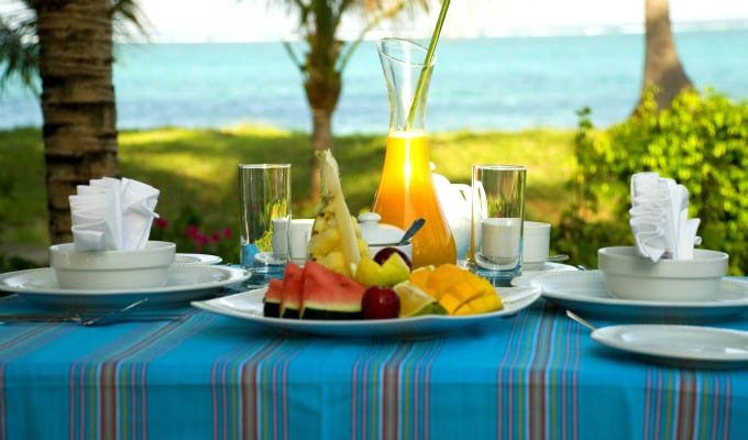 The Palms Zanzibar, Fresh Fruit for Lunch - Zanzibar