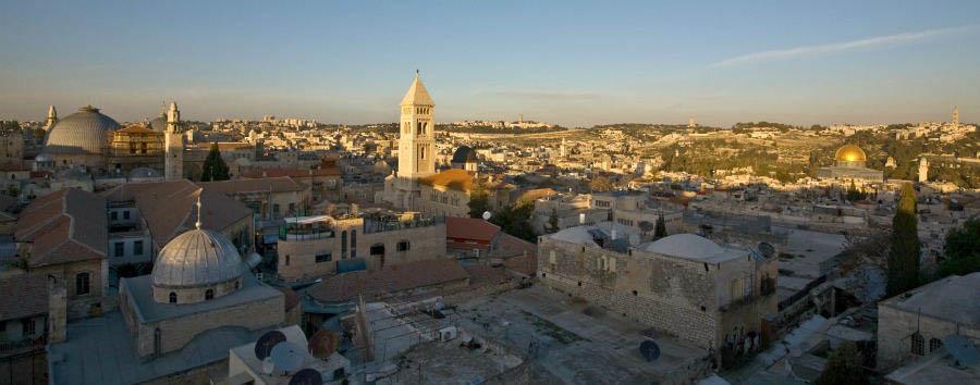 Israele in libertà - Israel Jerusalem, Aerial View