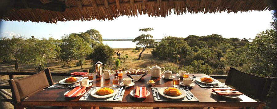 Siwandu - Breakfast with a view at Siwandu's elevated restaurant