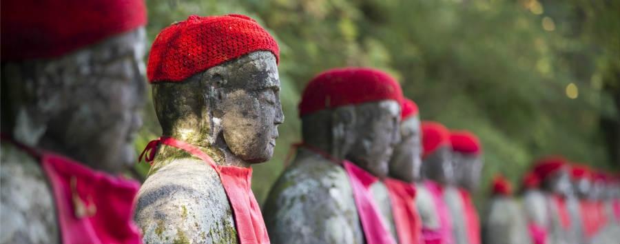 Armonia Giapponese - Japan Jizo Statues