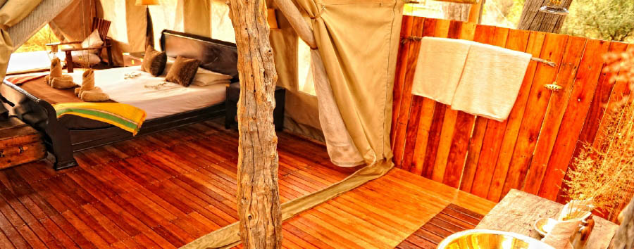 Somalisa Camp - Tent interior