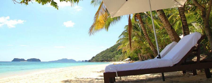 Un nido di emozioni - Philippines Palawan, El Nido Pangulasian Island Resort, Beach Area