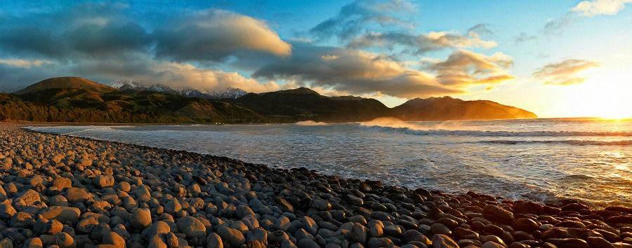 Luna di miele a Kaikoura - New Zealand Kaikoura, Manga Beach