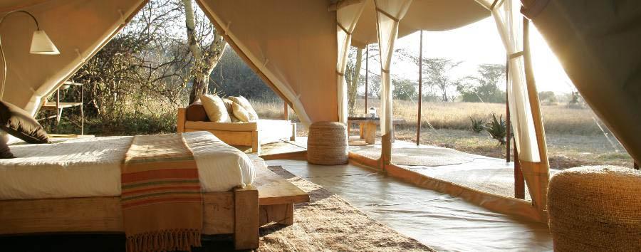 Naibor Camp - Tent Interior
