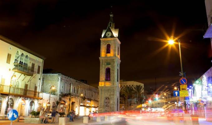 Tel Aviv, Jaffa Clock Tower - Israel